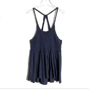 Free People Knit, Strappy Mountain View Tunic Top